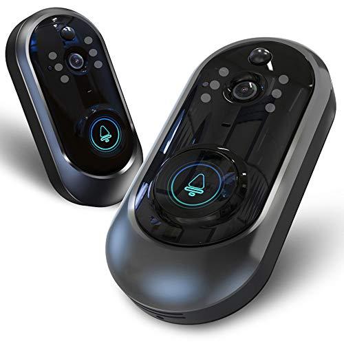 Video-Türklingel WiFi Home Intelligent Voice Intercom Drahtlose Cat Eye Video-Diebstahlüberwachung Türklingel