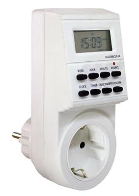 as - Schwabe 24032 Zeitschaltuhr, digitale Wochen-Zeitschaltuhr, IP20 Innenbereich von as - Schwabe - Lampenhans.de