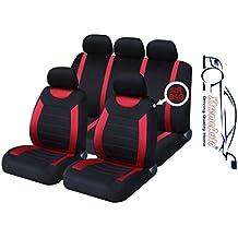 XtremeAuto SS5293.type6 - Juego completo de fundas para asientos, ajuste universal, pegatina