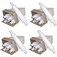 Rollos de papel elástico transparente extensible para embalaje de la película Cast Parcel (paquete de 1)