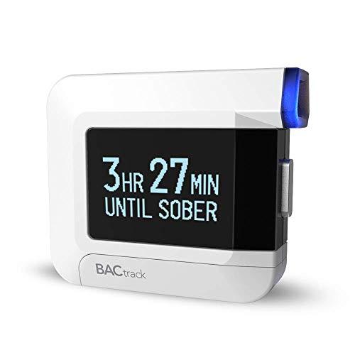BACtrack C8 Alcoholímetro Personal | Conectividad Bluetooth Opcional para iPhone y Dispositivos Android