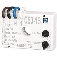 Trailing-relé CS3-1B Interruptor Temporizador para Extractor de baño