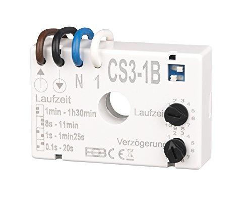 Elektrobock CS3-1B Nachlaufrelais Unterputz
