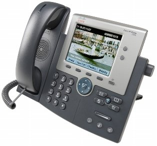 CP-7945G= - Cisco Unified IP Phone 7945G - VoIP-Telefon - SCCP, SIP - 2-Leitungsbebetrieb - Silber, Dunkelgrau Cisco IP Phone 7945 GIG -