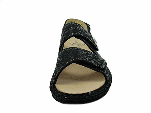 Finn Comfort 2560559099, Sandali Donna Nero
