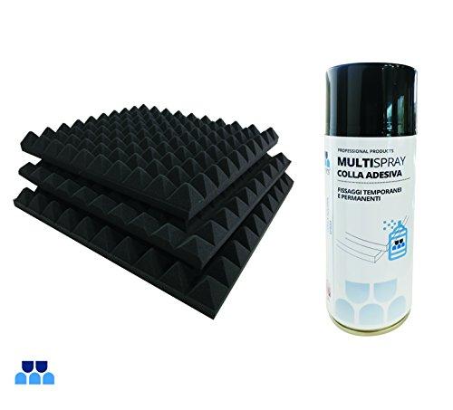 pannelli-fonoassorbenti-piramidali-50x50x6cm-densita-18-e-colla-multispray-confezione-da-8-pannelli-