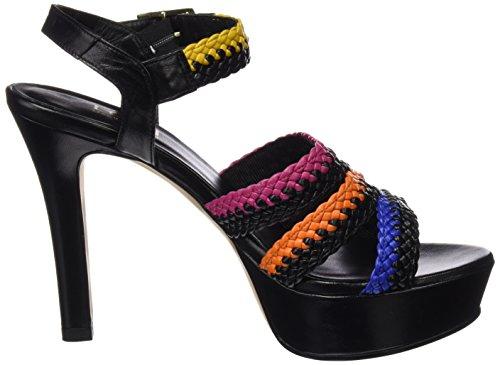 LODI Xincas, plateforme femme Multicolore (Lai Africano Sweet Noir)