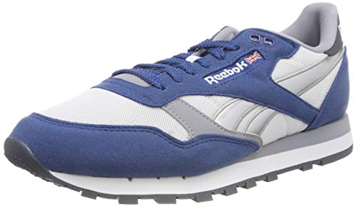 3cd71cd4c6a Reebok Cl Leather RSP, Zapatillas para Hombre, Azul (Bunker Blue/White/