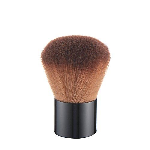 1pièce Plastique Tête ronde Poignée Nail Art Remover poussière Brosse de nettoyage Outil de manucure - Hearsbeauty
