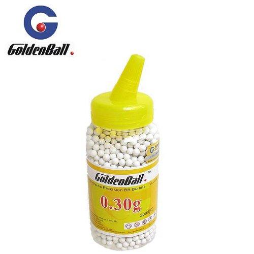 0,30 Gramm 6 mm GoldenBall Softairkugeln BB Weiß 2000 Stück des Herstellers 4komma5