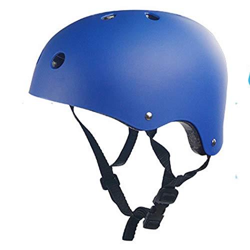 Coocle Kinder Skaterhelm für Jungen, Fahrradhelm Downhill Helm Sicherer Kinderhelm Skaterhelm Kinder Jungen Mädchen Fahrradhelm Kinder (Blau,490-550mm)
