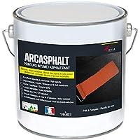 PINTURA betún arcasphalt – Pintura resina para suelo betún, asfalto, alquitrán, ...