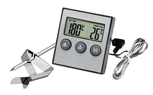 Hotloop Digital-Backen-Thermometer-Kochen-Nahrungsmittelthermometer für BBQ-Grill mit Probe