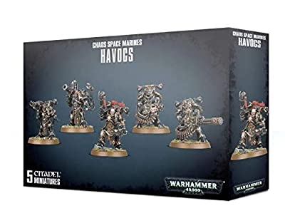 Games Workshop Chaos Space Marines - Havocs