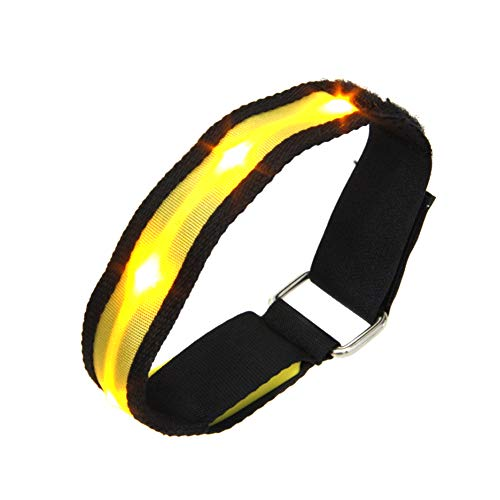 ZREAL LED Armband Running Armband Flashing Safety Light Band for Running Cycling Jogging Night Walking