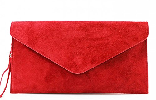 leahwardr-genuine-italian-suede-leather-envelope-clutch-bags-party-wedding-purse-handbag-red