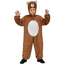 Widman - Disfraz de oso infantil, talla 5 - 8 años (S/9751B)