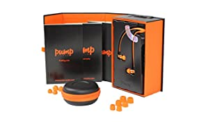 Pump Audio Kopfhörer, Orange