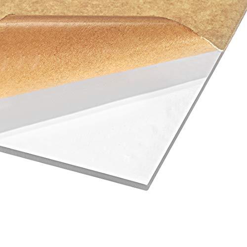 sourcing map Acrylglasscheibe für Bilderrahmen Schildhalter DIY Display Projekt 20cm * 30cm * 3mm, 2St