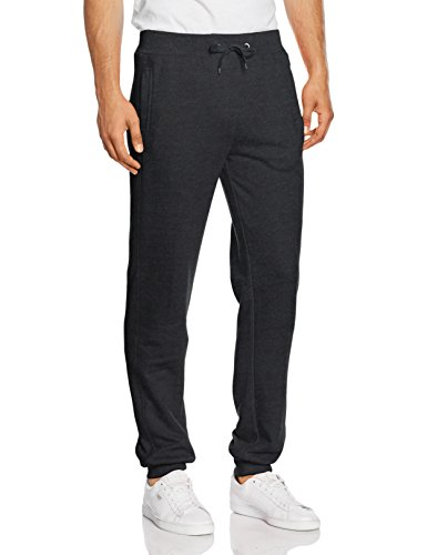 Urban Classics Herren Hose Straight Fit Sweatpants Grau (charcoal 91)