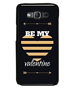 Samsung Galaxy On5 (2015), Samsung Galaxy On 5 G500Fy (2015) Back Cover Be My Valentine With Heart Design From FUSON