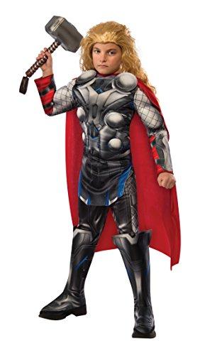 Thor - Deluxe - Rächer Alter von Ultron - Kinder-Kostüm - Klein - 117cm