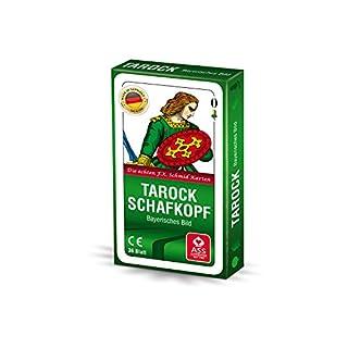 ASS Altenburger Spielkarten 22570207 - TAROCK SCHAFKOPF CL