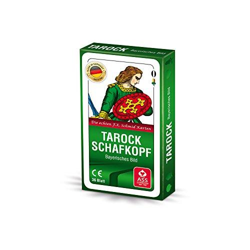 ASS Altenburger 22570207 - Schafkopf/Tarock - Bayerisches Bild, Kartenspiel