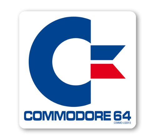 Commodore C64 Logo Coaster - Drink Mat