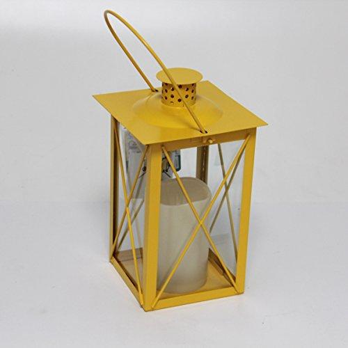 it Ku-Kerze | gelb | 6h-Timmer (Gelbe Laternen)