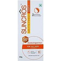 Suncros Matte Finish Soft Gel (SPF-50+) (PA+++) (50 gm)