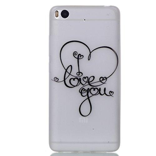 Voguecase® für Apple iPhone 7 hülle, Schutzhülle / Case / Cover / Hülle / TPU Gel Skin mit Nachtleuchtende Funktion (I love you 04) + Gratis Universal Eingabestift I love you 04