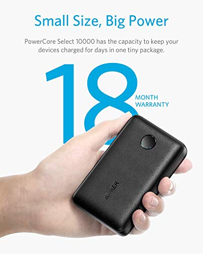 Anker PowerCore Select 10000, 10000mAh Portable Charger with 2 USB-A Ports, Light and Portable Power Financial institution, Power IQ 1.0 12W External Battery with Multi Protect and Voltage Boost Image 2