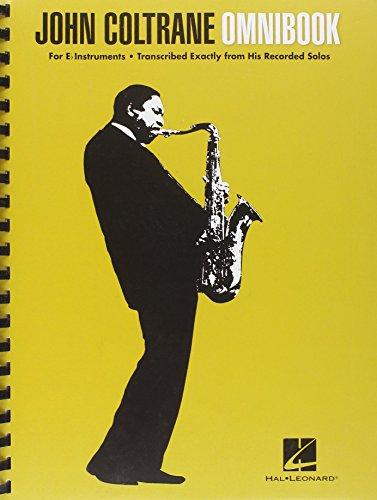 John Coltrane Omnibook (E-Flat Instruments): Noten für Instrument(e) in b, es, c, (Bass Instrumente)