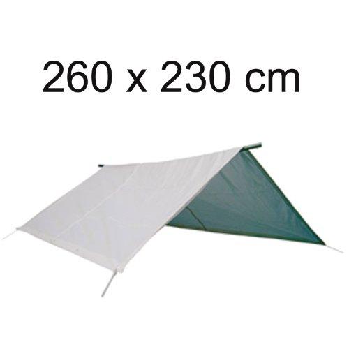 Sonnensegel für Boote 260 x 230 cm incl. 10 m Gummileine Ø 5 mm