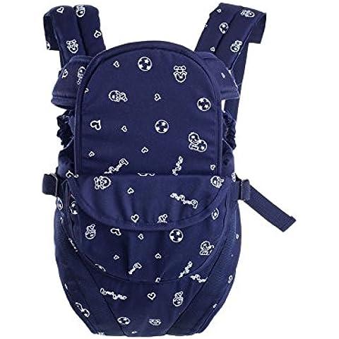 Versatile doppia testa universale stampa di modo spalle traspirante può essere portante orizzontale Tenere Four Seasons bambino