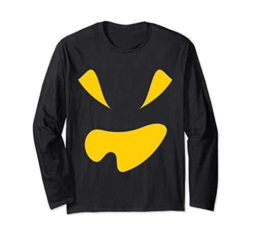 Kostüm Jackolantern - Kürbis Gesicht Halloween Kostüm Jackolantern Langarmshirt