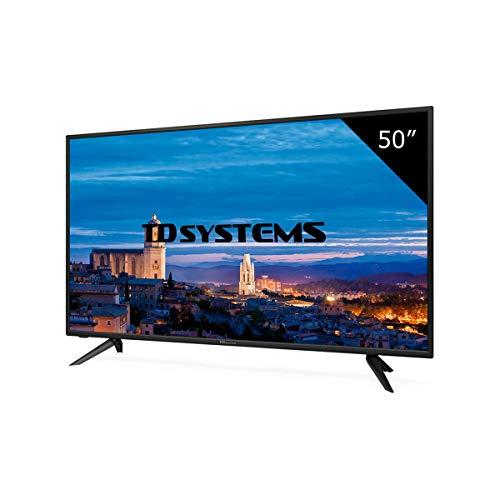 TD Systems K50DLH8F - Televisor LED de 50' (Full HD), color negro