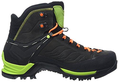 Salewa MTN Trainer Mid Gore-tex Bergschuh, Shoes Homme - Multicolore (Charcoal/Papavero 4720), 42.5 EU