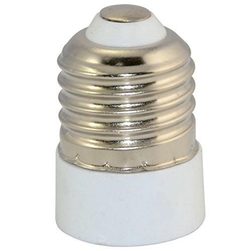 E27 - E14 LED CFL Licht Birne Lampe Lampenfassung Sockel Base Halter Konverter Edison Screw Cap Adapter