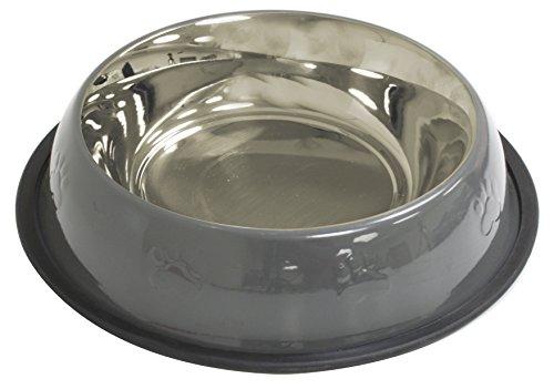 croci-bol-en-acier-pour-chien-chat-gris-024-l-16-cm