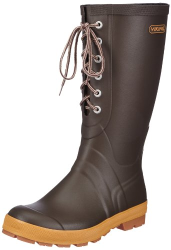 Viking Slagbjørn II - Botas de goma para mujer, color marrón, talla, Marrón (Braun (30)), 38