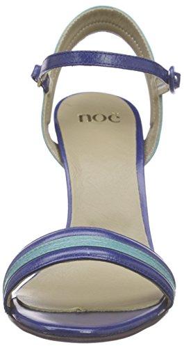 Noe Antwerp Neiva Sandal, Sandales Bride cheville femme Multicolore - Mehrfarbig (TRUE BLUE / TURCHESE)