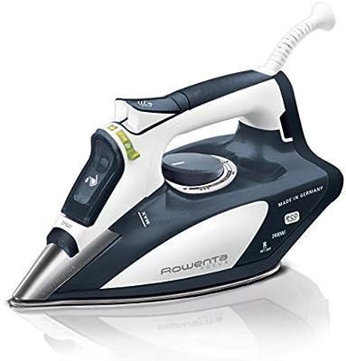 Rowenta Focus DW5112D1 - Plancha (2400 W, golpe de vapor 160 g/min, suela Microsteam Laser 400, función ECO)