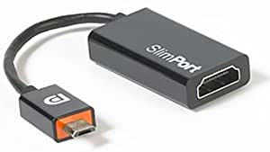 Slimport to HDMI Adapter Cable for LG Google Nexus 4–Connects TV, Monitors with a Smartphones with Slimport Connection (SP1002)