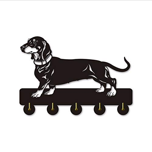 el Hund Dekorative Kleiderhaken Kreative Hund Thema Wandhalter Haken Für Kleidung Tasche Schlüssel Einzigartige Innendekoration ()