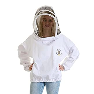Buzz Workwear Beekeepers Tunic with fencing/astronaut veil -2XL 11