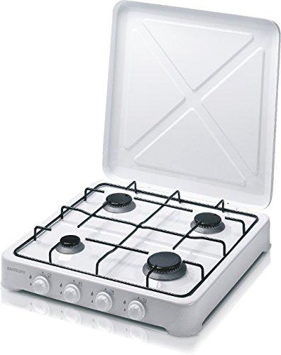 Gaskocher Butan oder Propan, 4 Kochplatten