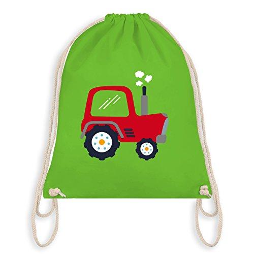 Fahrzeuge Kind - Kinder Traktor - Unisize - Hellgrün - WM110 - Turnbeutel & Gym Bag