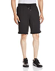 Puma Mens Cotton Shorts (4056205256564 51469101 Small Black)
